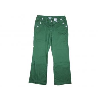 Женские зеленые брюки H&M, L