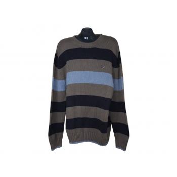 Мужской свитер в полоску EDEN & PARK, XL