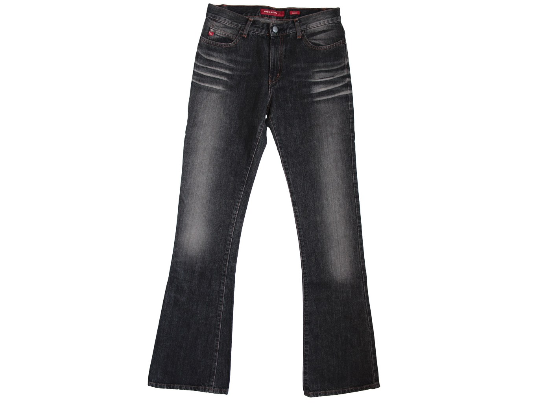 Женские черные джинсы клеш MISS SIXTY