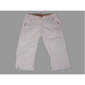 Женские белые джинсовые бриджи RIVER ISLAND, L