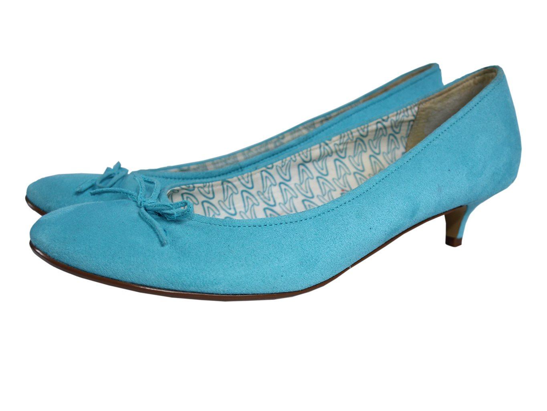 Женские голубые туфли CLARKS 39 размер