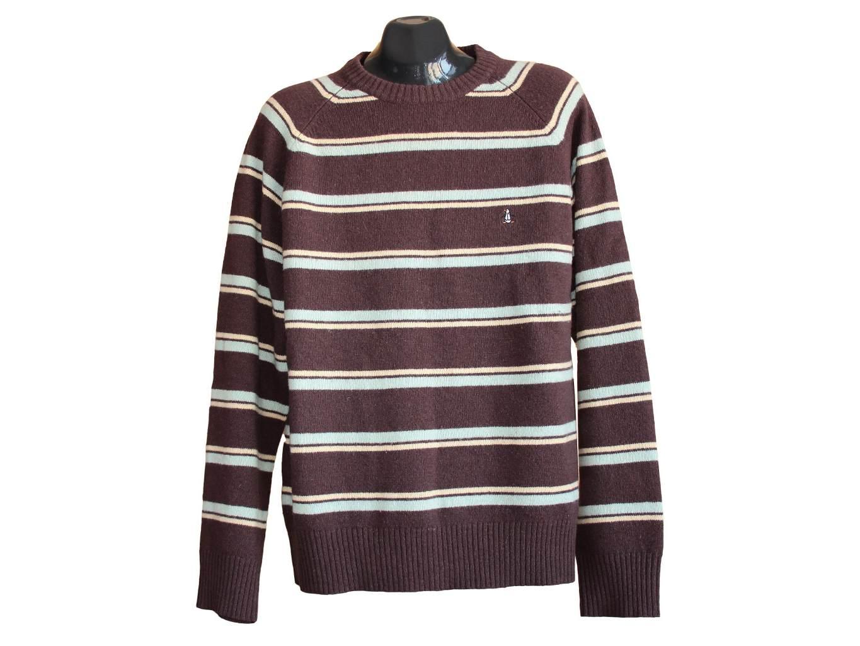 Мужской шерстяной свитер PINGUIN, L