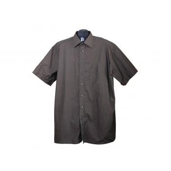 Мужская коричневая рубашка HATICO, XL