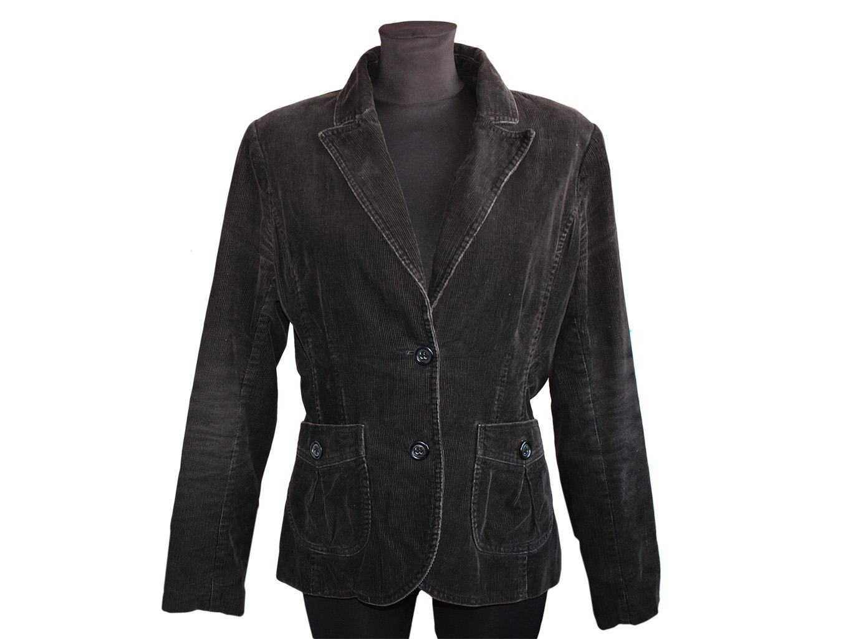 Женский вельветовый пиджак H&M, XL