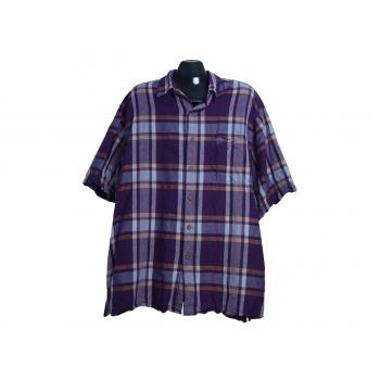 Мужская льняная рубашка в клетку ARROW, 3XL