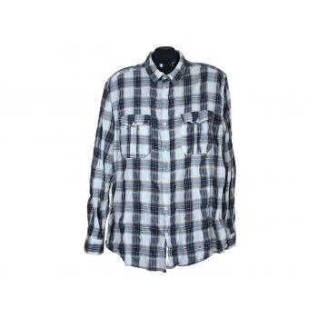 Мужская рубашка в клетку SANDSTONE, L