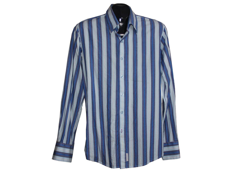 Мужская рубашка в полоску SMITH&JONES, S