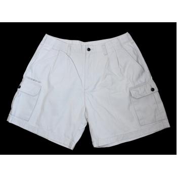 Мужские белые короткие шорты UMBRO CARGO W 32