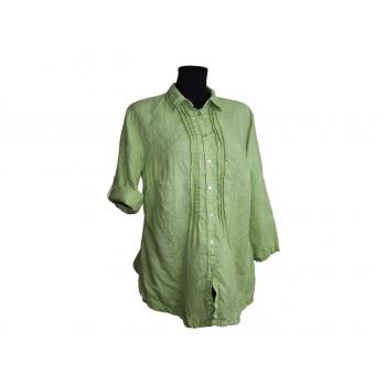 FRANCO CALLEGARI женская зеленая льняная туника