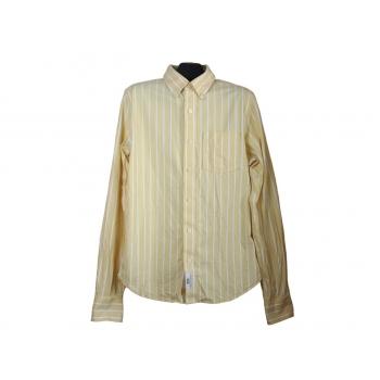 Мужская желтая рубашка в полоску RUEHL, М
