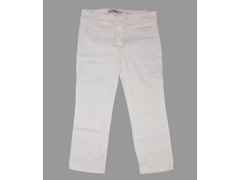 Женские белые капри ZARA BASIC, М