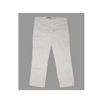 Женские белые капри ZARA BASIC