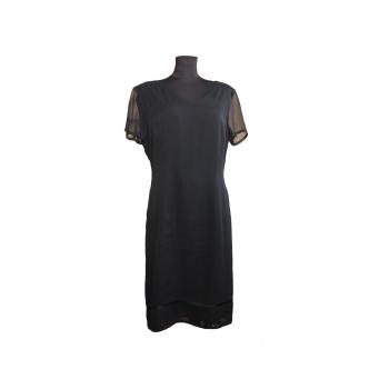 Женское длинное черное платье IN WEAR, XL