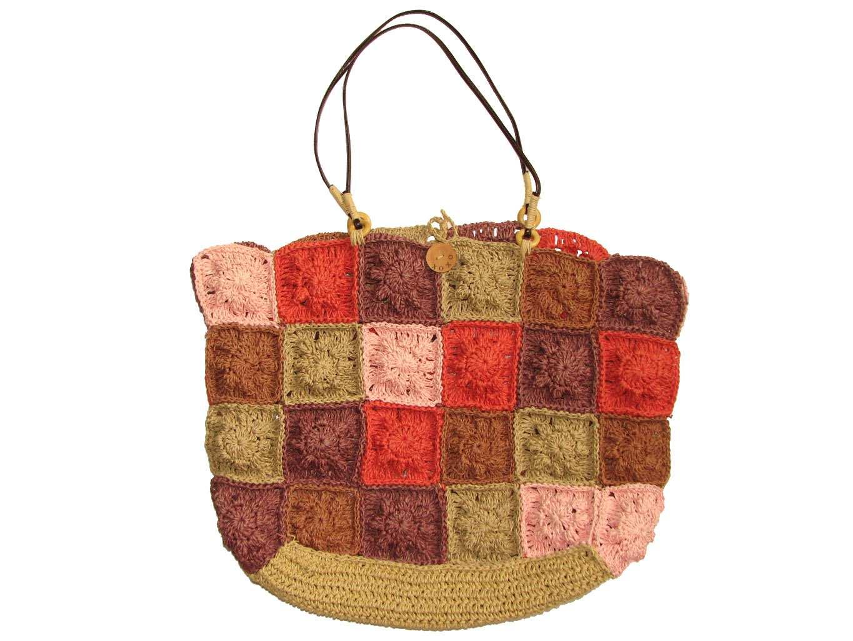 Женская цветная пляжная сумка