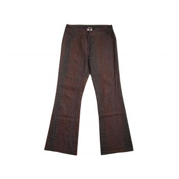 Женские коричневые брюки клеш MORGAN, XS