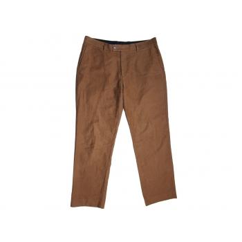 Мужские коричневые брюки CHARLES TYRWHITT W 36 L 32
