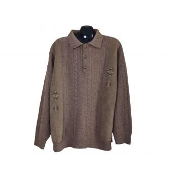 Мужской шерстяной свитер GIORGIO, 3XL