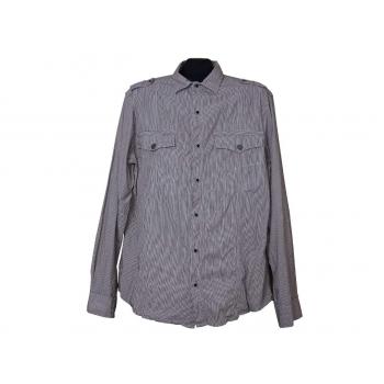Мужская рубашка в полоску NEXT, L