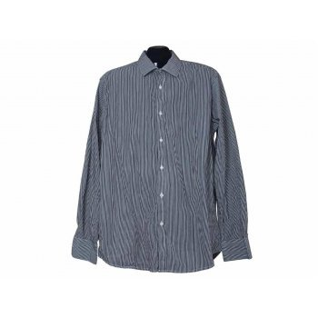 Мужская рубашка в мелкую полоску NEXT, L